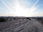 Sunrise in the Mojave.